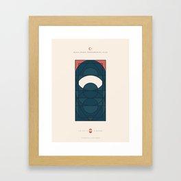 LE VOILE & LA BARBE - Musulmans fondamentalistes - Femme Framed Art Print