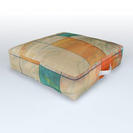 Mid-Century Modern Art - Graffiti 5.2M Outdoor Floor Cushion