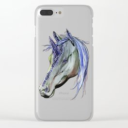 Geode Unicorn Clear iPhone Case