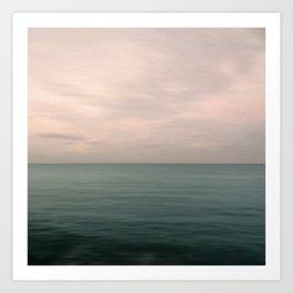 Sea & Sky Scape Art Print