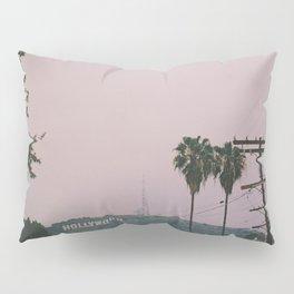 Rainy Hollywood - a rare sight Pillow Sham