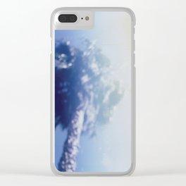 California Blur Clear iPhone Case