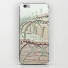 Pastel Pier iPhone Skin