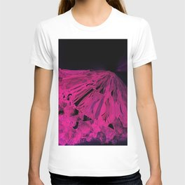 Crystal Bed Abstract T-shirt