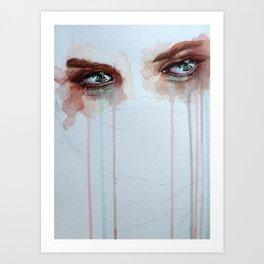 Forgotten, version a Art Print