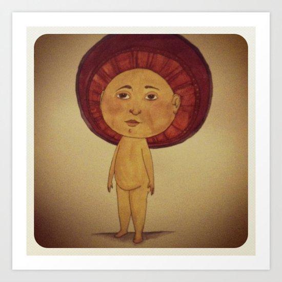 Sun Boy Art Print