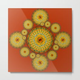 Copernicus, Descartes, and the Mayan Corn Calendar Metal Print