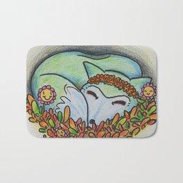 Mystical Fox Bath Mat