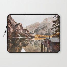 braies lake Laptop Sleeve