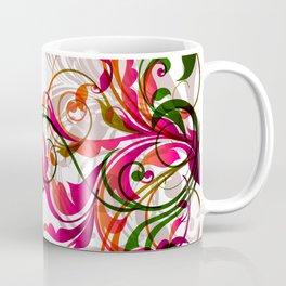 Abstract Floral 02 Coffee Mug