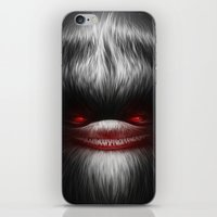 resident evil iPhone & iPod Skins featuring EVIL by Dr. Lukas Brezak