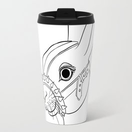 BDSM Rabbit Travel Mug