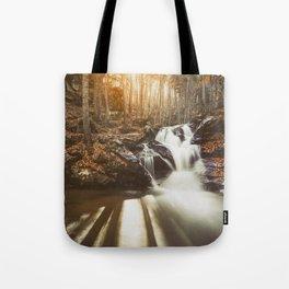 Autumn waterfall II Tote Bag