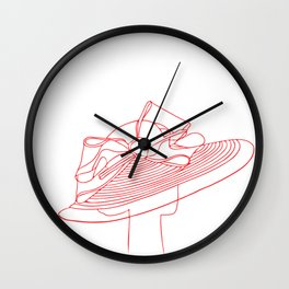 Red Hat Wall Clock