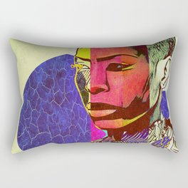 Royal Badu Rectangular Pillow