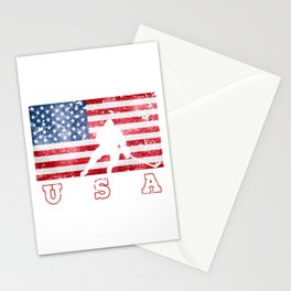 Team USA Ice Hockey on Olympic Games Stationery Cards