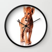 the little prince Wall Clocks featuring little prince by arnedayan