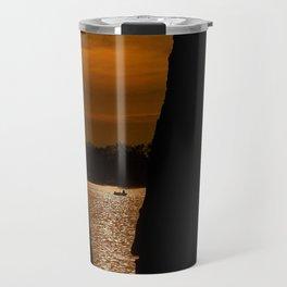 Tree Framed Sunrise Travel Mug