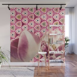 chiang candies & tulips Wall Mural