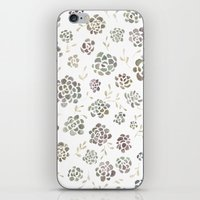 succulents iPhone & iPod Skins featuring Succulents by Kelli Murray