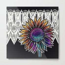 Sunflower- Catalyst Gardens Metal Print
