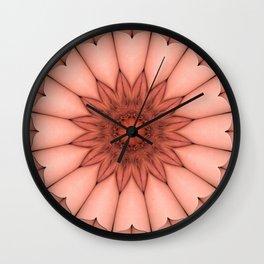 4655 Intimate Sexual Mandala Nude Female Enter Naked Closeup Vulva Abstracted Sensual Sexy Erotic Wall Clock