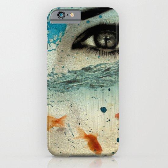 tear in the ocean iPhone & iPod Case