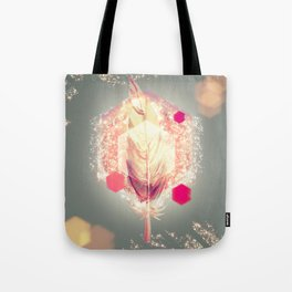 Lightness Feather Tote Bag