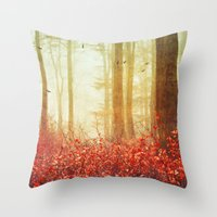 silence of the lambs Throw Pillows featuring silence by Dirk Wuestenhagen Imagery