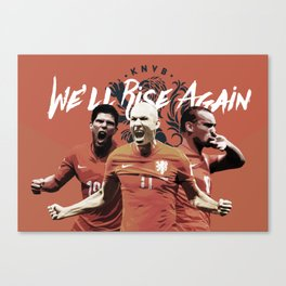 The Netherlands National Team Poster 2016 Canvas Print