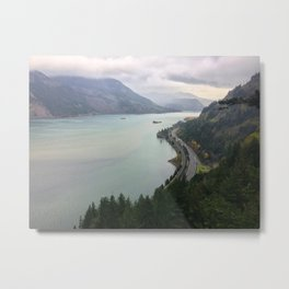 Gorge Views for Days Metal Print