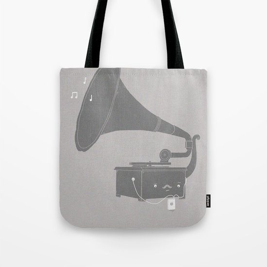Get with the times Tote Bag