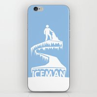 jack frost iPhone & iPod Skins featuring Jack Frost by Remix Comix