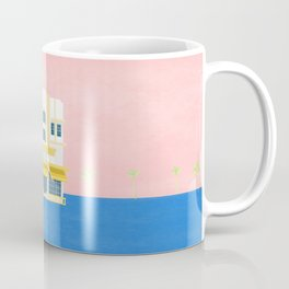 Leslie Hotel Miami Beach Coffee Mug