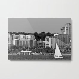 Leaving the Potomac - Photo Metal Print