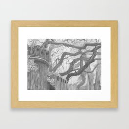 Forest Wall Framed Art Print