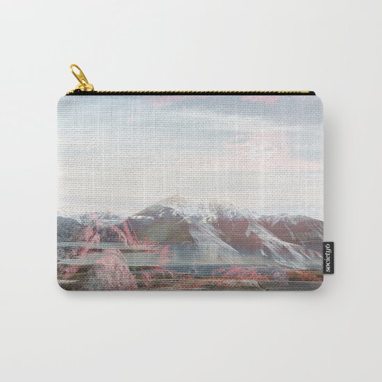 Snow-capped Sunrise Carry-All Pouch
