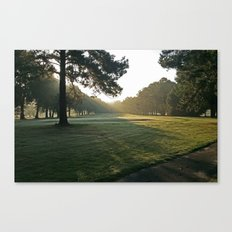 Early Morning Hole 6 at Willow Lake Canvas Print