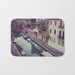 Morning Canal in Venice Bath Mat