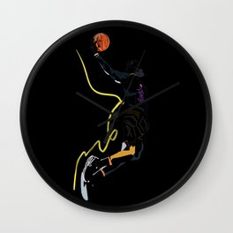 Lebron King James basketball sports player  Wall Clock