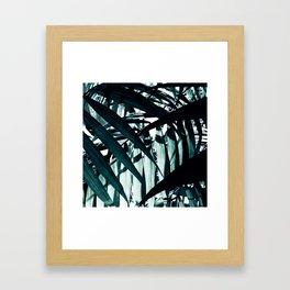 Inside of Palm Trees Framed Art Print