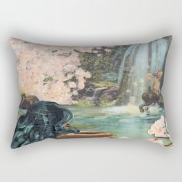 The Faun and the Mermaid Rectangular Pillow
