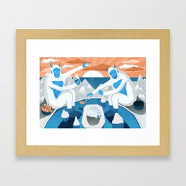 Where Snow Comes From Framed Art Print