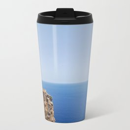 Ruins and the Sea Travel Mug
