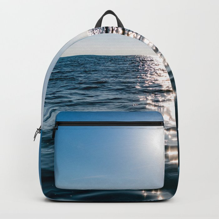 Marble Wave Sunshine Backpack