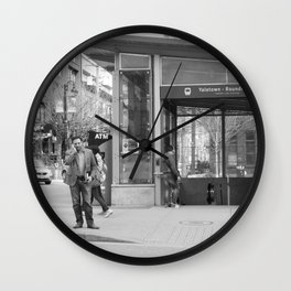 Across from Yaletown Roundhouse Skytrain station Wall Clock