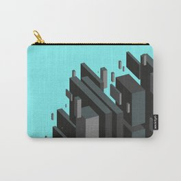 Isometric geometric shapes art Carry-All Pouch