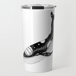 Space Whale Travel Mug