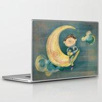 boy Laptop & iPad Skins featuring Boy by Catru