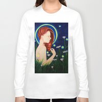 firefly Long Sleeve T-shirts featuring Firefly  by A.LynnArt